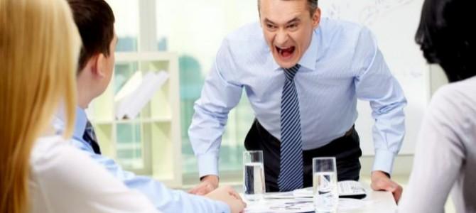Si tienes un mal día, no lo pagues con tu puesto de trabajo