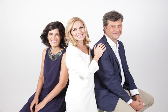 De izquierda a derecha: Laura Curto, Eva Aguilera y José Manuel Chapado. Ethica Consultores