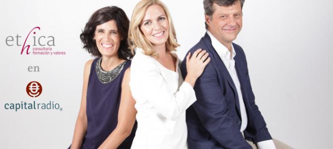 Sus tres socios presentan ÉTHICA en Capital Radio